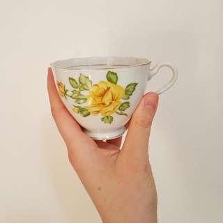 English Fine Bone China Teacup Set