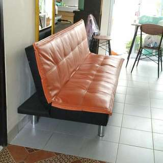 Sofa-bed Orange
