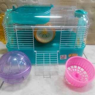 鼠籠 日本品牌 很新 倉鼠 黃金鼠
