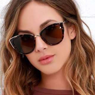 NEW Quay Tortoise Shell My Girl Sunglasses