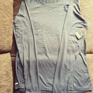 Danskin Performanc3 Semi Fit LS Tee - US Size L - Grey