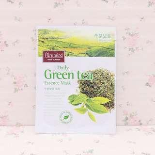 Pure Mind Daily Green Tea Essence Mask