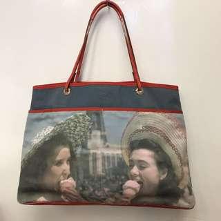Anya Hindmarch Canvas Tote Bag