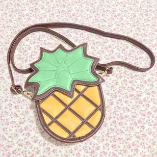 Funky Fish Pineapple Sling Bag