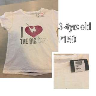 Zara Tshirt For Kids