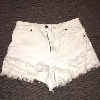 A-Brand Shorts White