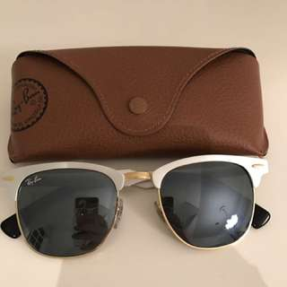 Ray Ban Clubmaster Aluminum Sunglasses