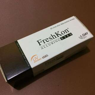 Freshkon Alluring Eyes - Winsome Brown (-2.75)
