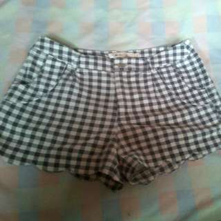 30(repriced)Scalloped Shorts