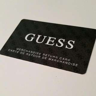GUESS Gift Card 35