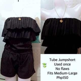 Black Jumpshort