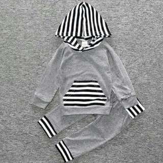 Baby Trackpants & Hoodie Set