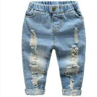 Boys Ripped Jeans