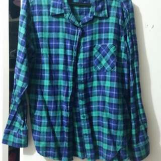 Plaid Shirt (Size M)