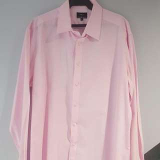 G2000 Button-down Long Sleeve (Pastel Pink)