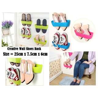 Creative Wall Shoes Rack