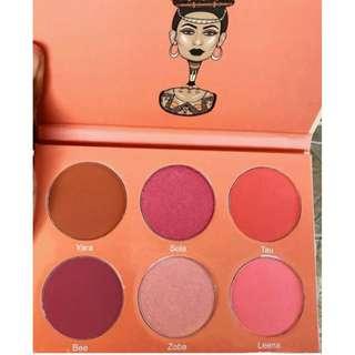 JUVIAS Place THE SAHARAN BLUSH PALETTE VOLUME 2 Eyeshadow Contour Highlight Brand New & Authentic