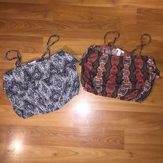 Cute Colourful Crop Tops For Summer