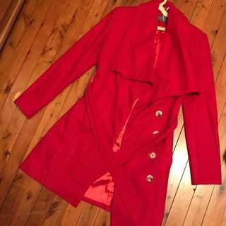 Red Shieke Coat