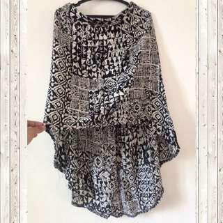 Assymetrical boho Skirt