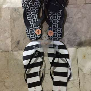 Tommy Hilfiger And Esprit Slippers