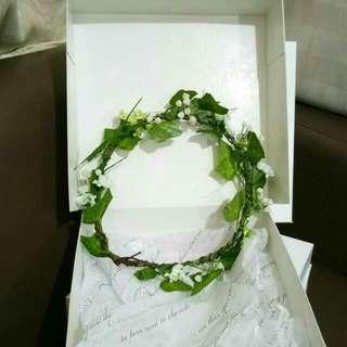 Handmade Flower Headband 002