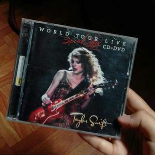 Taylor Swift Speak Now World Tour CD+DVD
