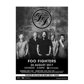 Foo Fighters - Standing A (Free Standing)