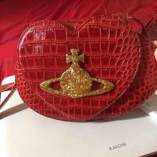 90% New Vivienne Westwood Cross body Bag