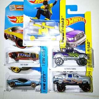 Hotwheels Mainline Basic Cars