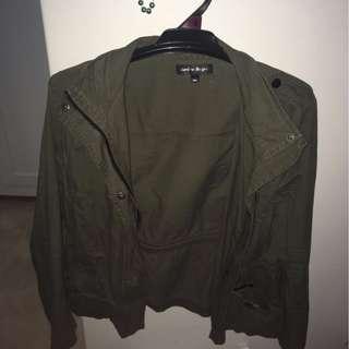 Khaki Anorak Jacket