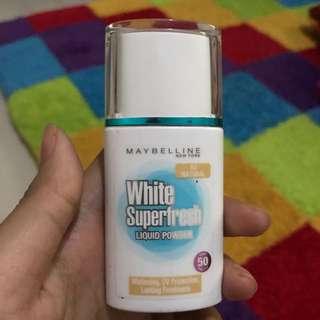Maybelline White Superfresh Shade Natural