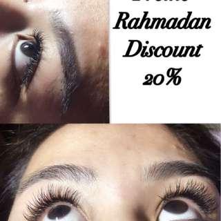 Eyelashes Extensions PROMO Rahmadan