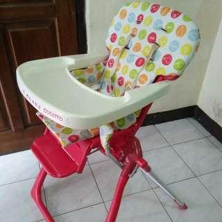 Baby Chair / Kursi Makan Bayi / High Chair Mothercare Cosatto