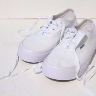 White Vans Of The Wall
