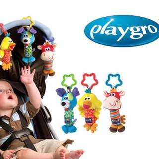 PLAYGRO TINKLE MULTIFUNCTIONAL RATTLE CRIB TOY P250