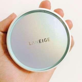 蘭芝✨近全新補充蕊 零毛孔氣墊粉霜 21 Beige