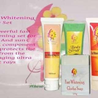 Fast Whitening Body Set