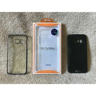 Samsung Galaxy S7 Edge cases (lot of 3)