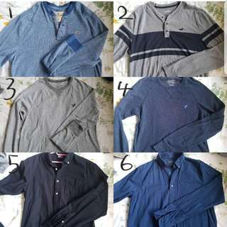 Cheap Authentic Abercrombie & American Eagle Shirts
