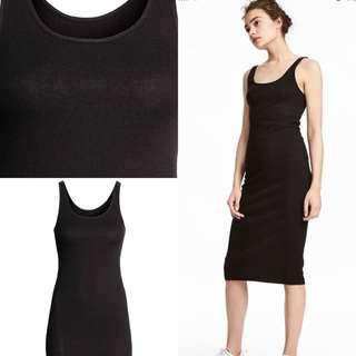 H&M Ribbed Midi Dress