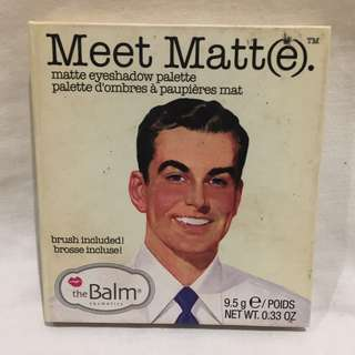 The Balm Meet Matte Eyeshadow Palette