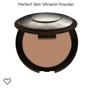 BECCA Perfect Skin Mineral Powder Foundation ( Noisette ) Brand New $40 Include Local Mail