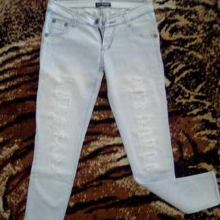 De&G rubbed jeans