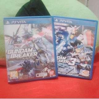 Gundam Breaker & Gundam Breaker 3 (PSVita)