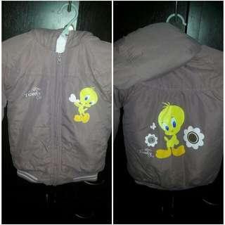 Jacket With Hood Tweety Bird