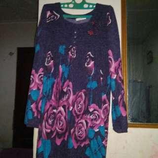 Baju Mawar Violet JUMBo