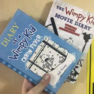 BUY 1 TAKE 1!! Diary Of A Wimpy Kid Book 6 And Movie Diary (HARDBOUND)