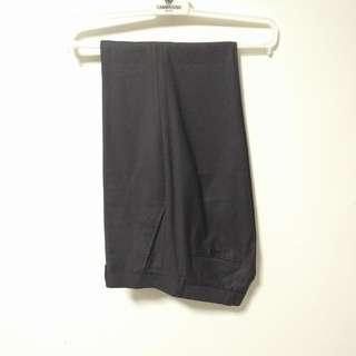 Charcoal Woolen Slacks
