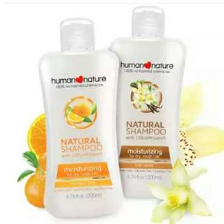 Human Nature Shampoo and Conditioner